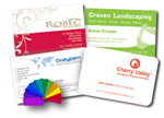 PMS & Spot Colour Business cards